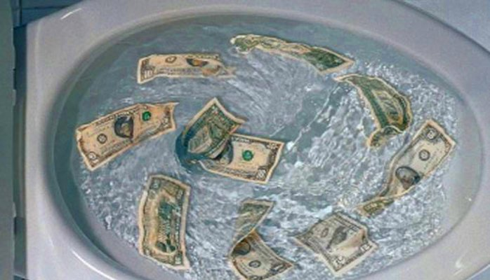 How much money are you actually wasting?
